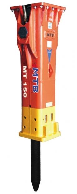 ГИДРОМОЛОТ МТВ-120/150 (Турция), на базе экскватора SOLAR 255 LC-V, 225 LC-V, 210W-V, 180W-V, 140 LC